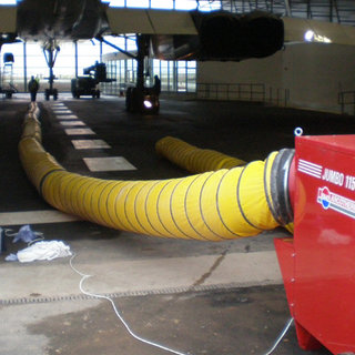 Jumbo 115 - 12in x 10m Ducting