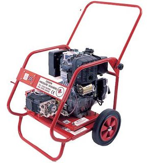 Demon Hurricane Cold Water Pressure Washer - Diesel Engine Driven