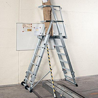 Telescopic Platform Steps - 6 Tread