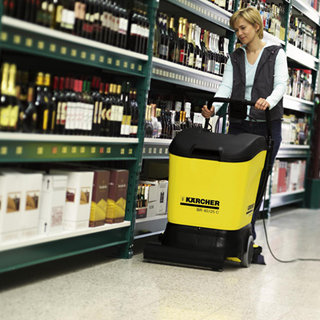 Twin Tank Floor Scrubber