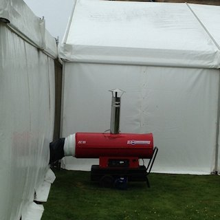 Marquee Heating Package
