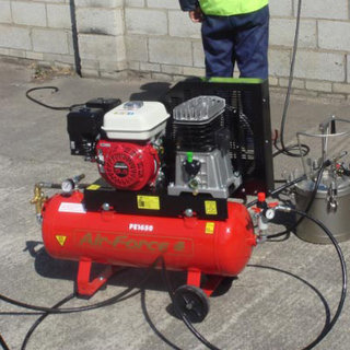 Portable Petrol Compressor