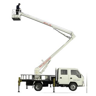 Operated Truck Mount Boom Lifts