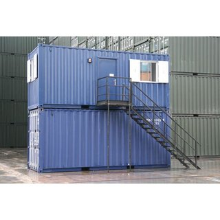 Stairs for Stacked Container Access
