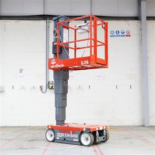 Personnel Lift, SkyJack SJ16, 4.75m - 16ft, Electric