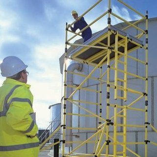 Fibreglass (GRP) Scaffold Tower