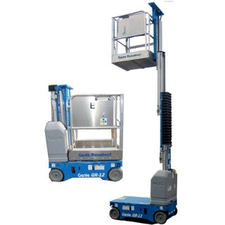 Personnel Lift, Genie GR12, 3.5m, 12ft, Electric