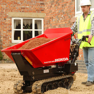 Tracked Pedestrian Mini Dumper