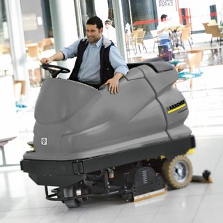 Karcher (BR 100/250) Ride-on Floor Scrubber Dryer