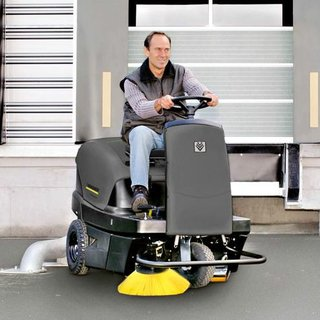 Karcher (KM 100/100) Ride-on Floor Sweeper