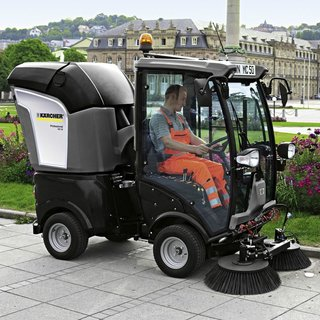Karcher MC50 City Mini Road Sweeper
