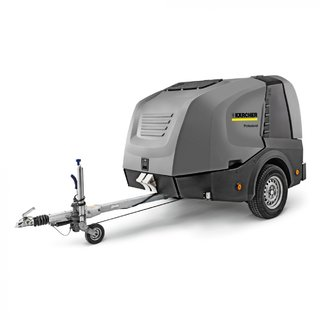 Karcher (HDS 17/20 DE TR1) Hot & Cold Water Trailer Pressure Washer