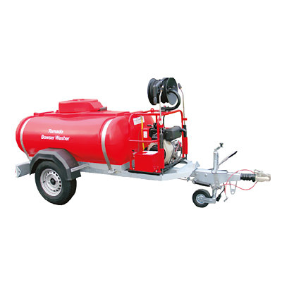bowser & diesel pressure washer hire