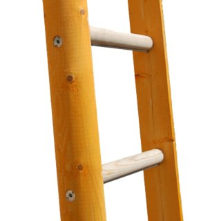Wooden Pole Ladder
