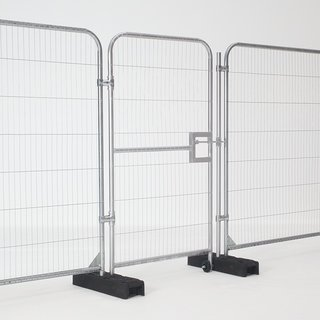 Pedestrian Gate for Temporary Fence