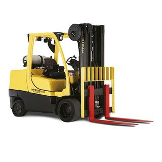 Compact Counterbalance Forklift - Gas / LPG - (5500kg)