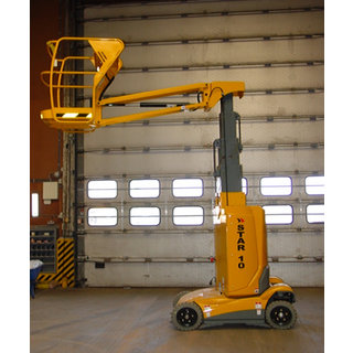 Haulotte Star10 Mast Boom Lift - Electric