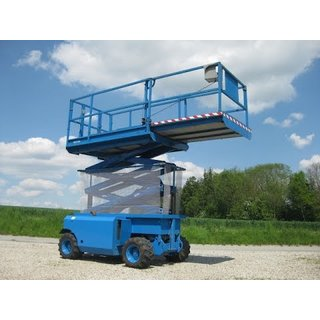 Genie GS2668RT Rough Terrain Scissor Lift