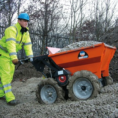 Muck Truck Power Barrow