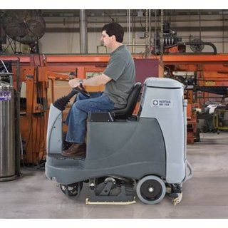Nilfisk BR755 Ride-on Floor Scrubber Dryer