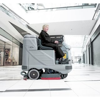 Nilfisk BR850S Ride-on Floor Scrubber Dryer