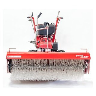Petrol Power Broom