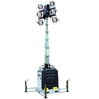 Diesel LED Lighting Tower