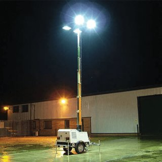 Road Tow Diesel Lighting Tower