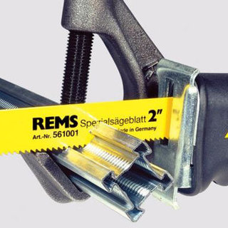 Rems Tiger Reciprocating Pipe Saw & Clamp