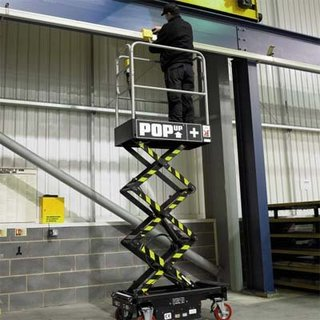 2.5m Scissor Lift - Pop Up Plus