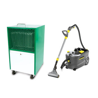 Carpet Cleaner & Dehumidifier Hire Package