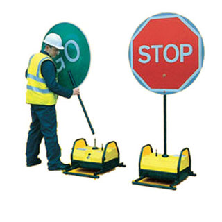 Stop - Go Sign - Swivel