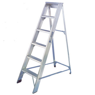 Alloy Step Ladder - 14 Tread