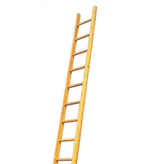 Timber Wooden Pole Ladder - 19 Rung 5m