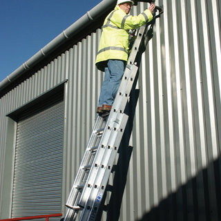 Triple Push-Up Extension Ladders - 2.4m