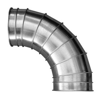 16in 90degree Metal Ducting Elbow