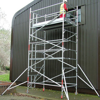 3.7m Handrail Narrow Tower 1.8m Deck