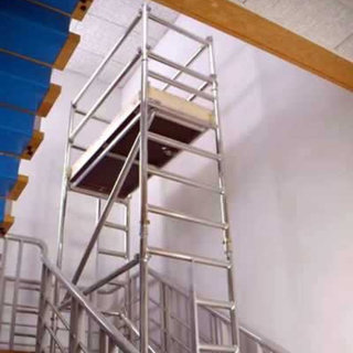 Alloy Stair Scaffold 7.3m Platform